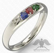 red stones rings images Spiritual stones 3 hearts zelda wedding band ring green blue red png