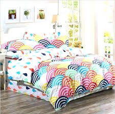 organic cotton duvet cover cotton quilt queen organic cotton bedding sets cotton rainbow printed duvet covers and bed sheet bedding queen size king size