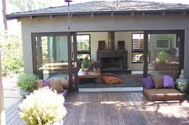Garage Door Conversion To Patio Door 2 Car Garage Converted Into Gorgeous Room With Great Use Of Big