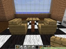 minecraft furniture kitchen how to make a kitchen in minecraft 12 steps with pictures