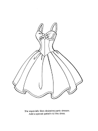 barbie fashion coloring pages barbie fashion coloring pages for