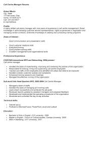 call center resume examples bpo customer service resume example