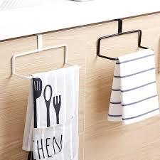 suspension cuisine porte serviettes de cuisine pour armoires rack fer barre