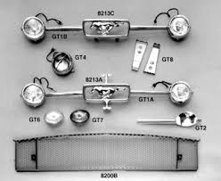1966 ford mustang kits 1965 66 gt mustang fog lamp bar kits grille comp