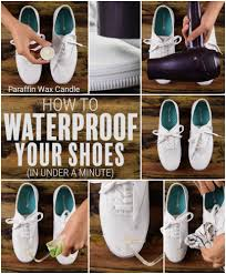 diy how to make your shoes waterproof in under a minute hack