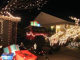 jeep christmas debut night xmas on eucalyptus and about that jeep laurel