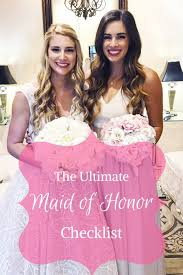 Maid Of Honor Planner Maid Of Honor Checklist Archives By Hilary Rose