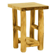 Log Side Table Rustic Log End Tables Side Tables
