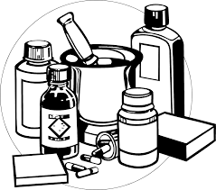 100 medicine clip art image black and white