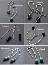 earrings diy 48 make earring distinctive earrings with silvery brass