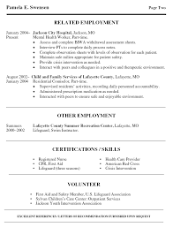 Lifeguard Resume Sample by Community Mental Health Worker Cover Letter