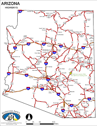 Canada Highway Map by Arizona Highway Map Arizona Map