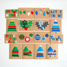 photo christmas cards diy felt christmas cards northstory