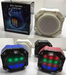 bluetooth mini speakers jhw v3199 octagon cute speaker wireless