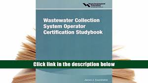 audiobook wastewater collection system operator certification