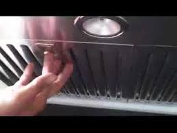 How To Degrease Kitchen Cabinets How To Clean Baffle Filters Youtube