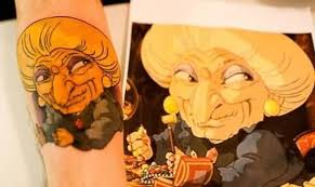 funny old lady tattoo picture tattoos book