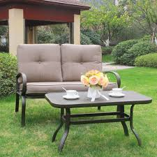 Patio Furniture Table Wrought Iron Patio Furniture The Garden And Patio Home Guide