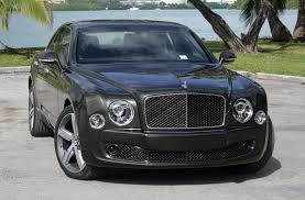 2013 Black Bentley Mulsanne With All Black And White Face Lexani
