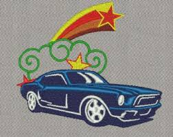 mustang designs mustang embroidery etsy