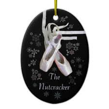 Nutcracker Christmas Ornaments Uk by Ballet Shoes Christmas Tree Decorations U0026 Ornaments Zazzle Co Uk