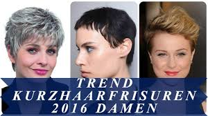 Kurzhaarfrisuren 2017 Blond Damen by Trend Kurzhaarfrisuren 2016 Damen