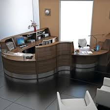 Accessible Reception Desk Glass Top Wheelchair Accessible Reception Desk