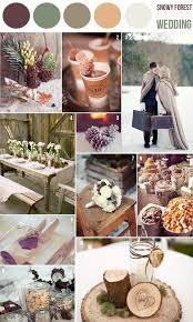 wedding color schemes winter wedding color schemes