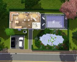 modern house floor plans sims 3 mod the sims the modern lake house base game no cc
