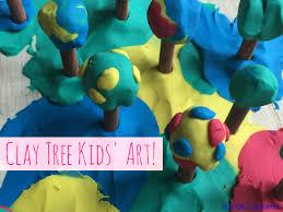 mini monets and mommies tu b u0027shevat tree kids u0027 clay craft