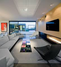 Long Living Room Design by Long And Big Living Room With Lots Of Sofa Design Inspiring