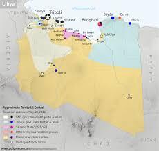 World Map Timeline by Libya U0027s Political Realignment May 2016 Control Map U0026 Timeline