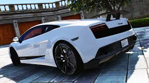 lamborghini custom paint job lamborghini gallardo superleggera lp 570 4 add on gta5 mods com