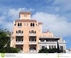 spanish style house stock images image 17802974