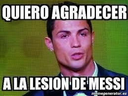 Crea Meme - balon de oro 2013 la aficion crea memes de ronaldo y messi
