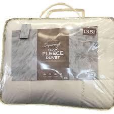 teddy bear luxury fluffy thermal micro fleece super soft duvet
