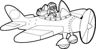 airplane coloring pages free printable toddlers plane print