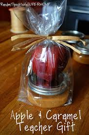 Caramel Apple Party Favors Random Thoughts Of A Supermom Back To Apple And Caramel