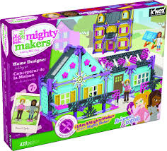 k u0027nex mighty makers home designer building set toys