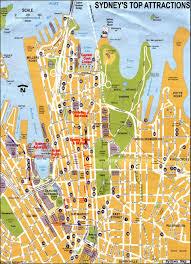 Sydney Map Maps Of Sydney