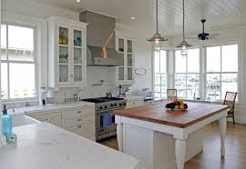 eat in island kitchen kitchen room butcher block island kitchen traditional ceiling
