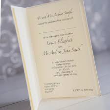 a6 wedding invitation