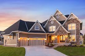exciting craftsman house plan with finished two story sports court