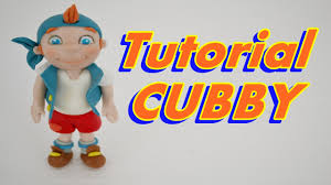 cubby tutorial jake land pirates cake topper