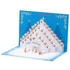 greeting life mini santa pop up christmas card p 229 greeting