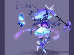 benitoite drawing benitoite fusion comm spectrolite silica by kryingkraken on