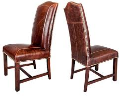 Genuine Leather Dining Room Chairs by Chair Design Ideas Best Genuine Leather Dining Chairs Ideas