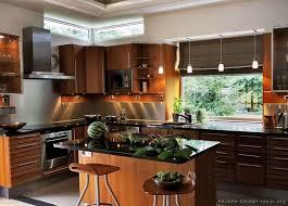 Modern Cherry Kitchen Cabinets Modern Medium Wood Kitchen Cabinets Kitchen Design Ideas Stfi Re