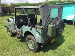 willys army jeep 6 1946 army green willys jeep 4x4 classics