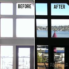 interior window tinting home the before and after of residential grade window tint saves money